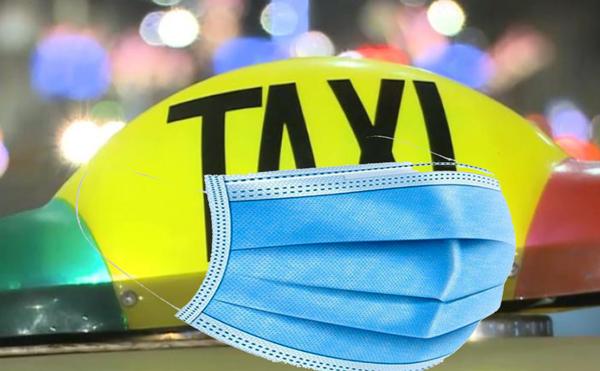 Masca încă mai este obligatorie în taxi!