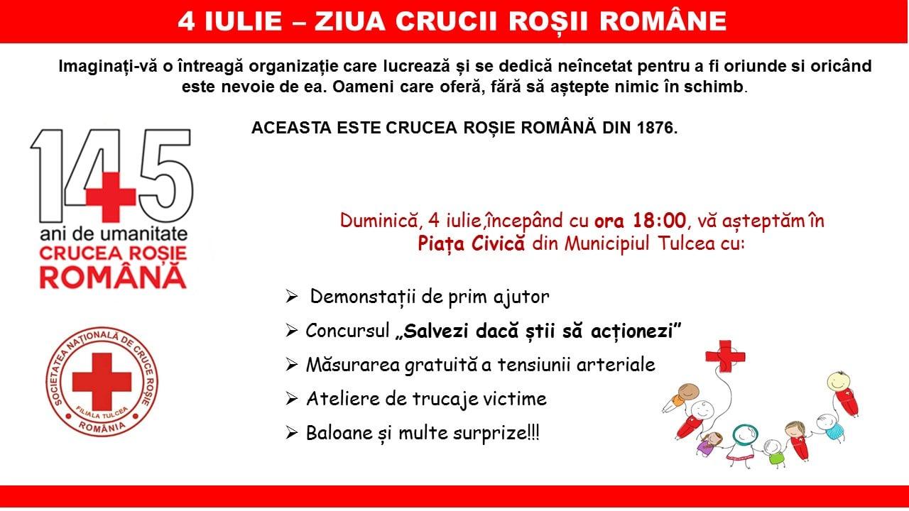 Distracție, ateliere și voie bună de Ziua Crucii Roșii în Piața Civică