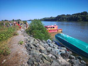 IPJ Tulcea: barca cu turiști s-a răsturnat, din cauza neatenției