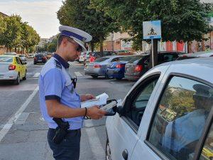Teribiliști la volan prinși de poliție, pe străzile din Tulcea, de Sfânta Marie
