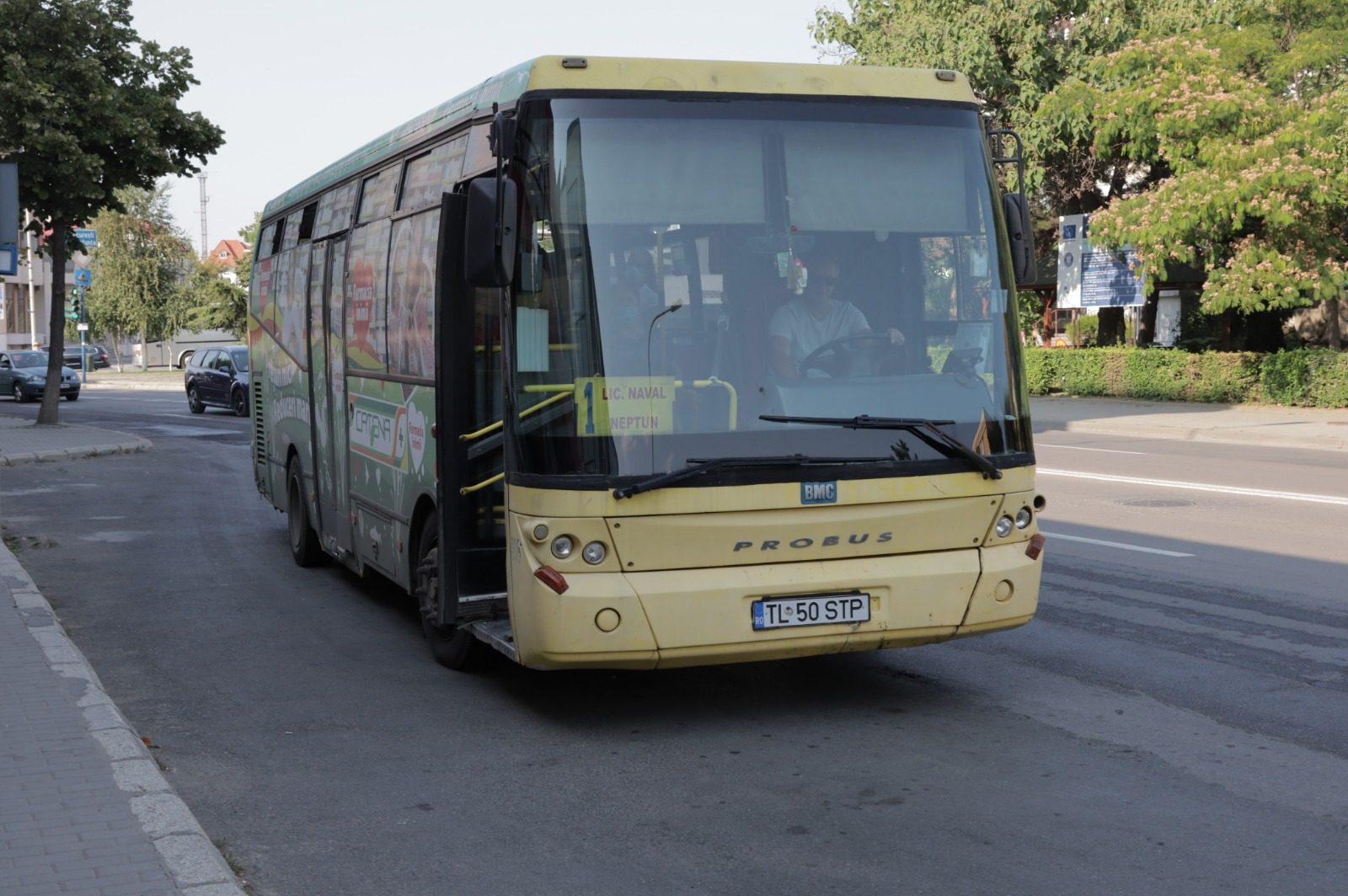 Nereguli grave descoperite la autobuzele STP Tulcea