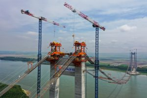 Drulă: Podul suspendat peste Dunăre se va deschide la finalul anului viitor