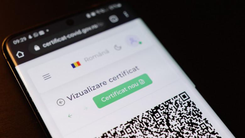 De vineri, doar certificatele digitale COVID vor fi recunoscute la ieșirea din țară