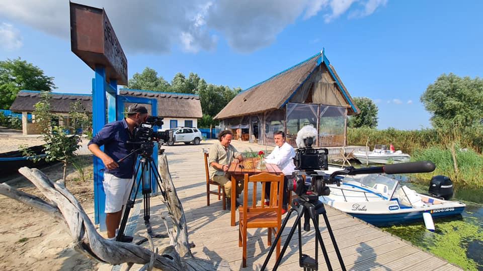 """Jurnalistul BBC Charlie Ottley a terminat de filmat """"Wild Danube"""" alături de Asociația Delta Dunării"""