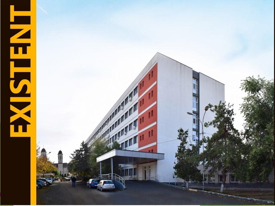 Spitalul Județean Tulcea a intrat în reparații capitale