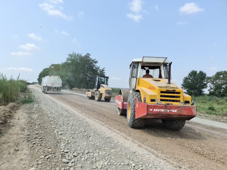 Reabilitarea drumului Tulcea-Chilia Veche îngreunată de campania agricolă