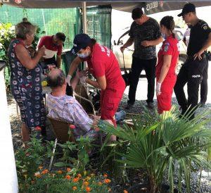 Turist salvat dintr-un canal mlăștinos din Delta Dunării
