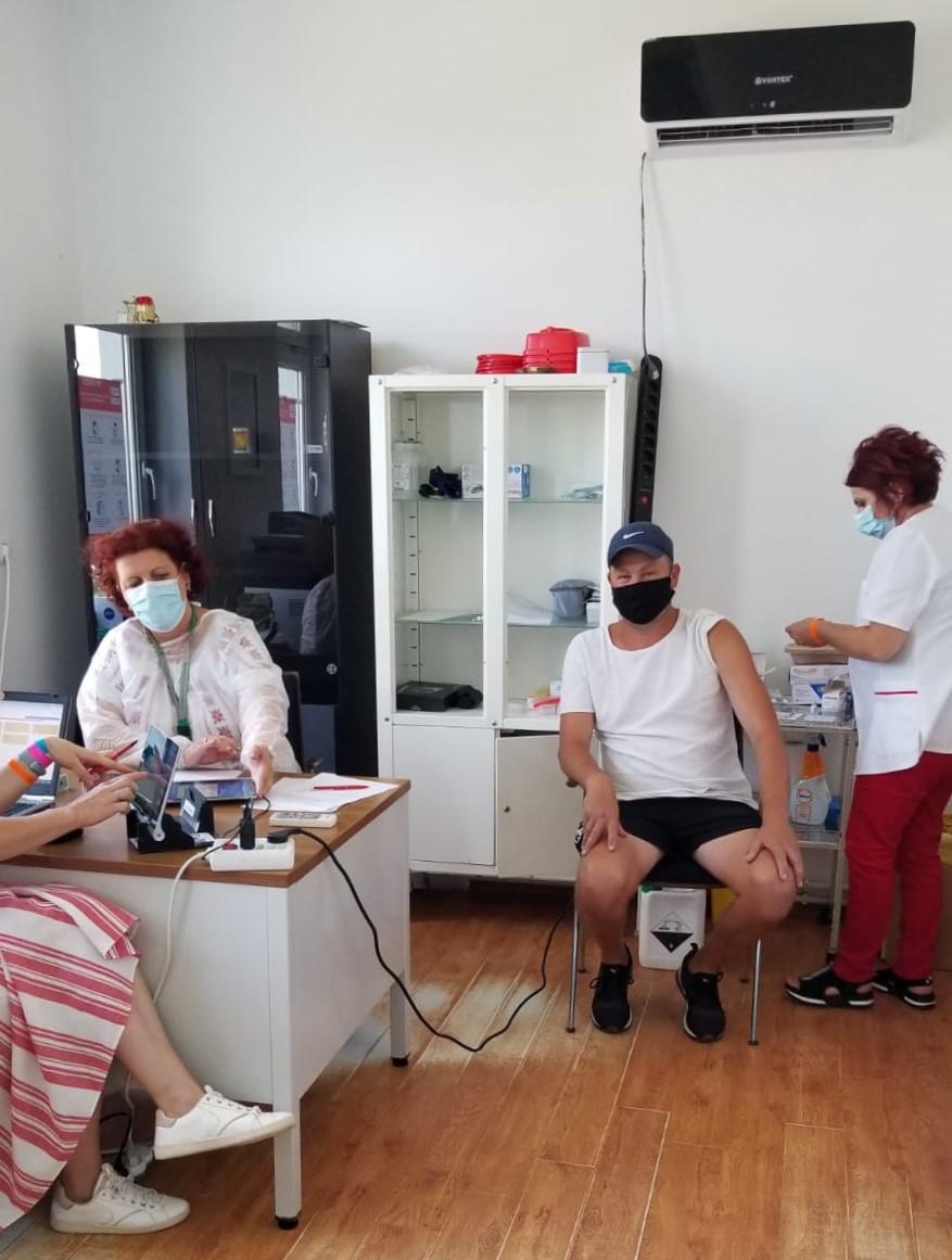 5 zile de vaccinare gratuită la Sfântu Gheorghe în cadrul Festivalului Anonimul