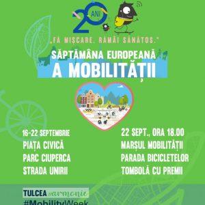 Tulcenii chemați la Marșul Mobilității! Câștigătorii vor fi premiați!