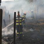 Incendiu în Cloșca, comuna Horia