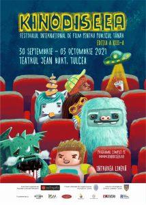 Elevii din Tulcea invitați la KINOdiseea, cel mai mare festival de film pentru copii din Europa de Sud-Est
