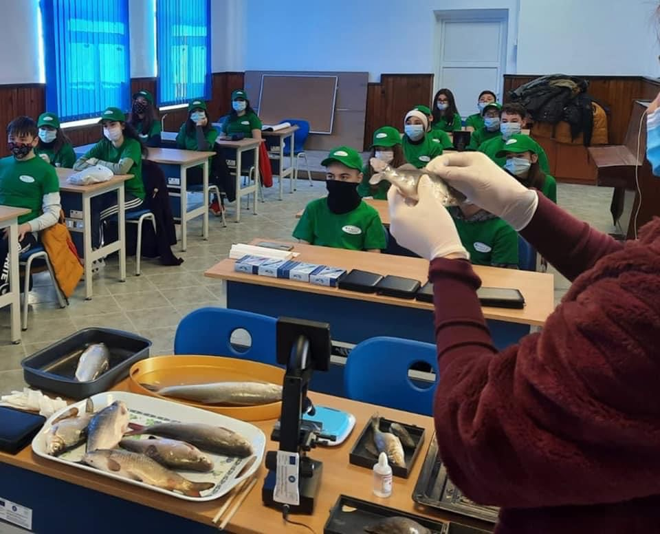 Clasă cu dotări ultramoderne, la Școala Turcoaia