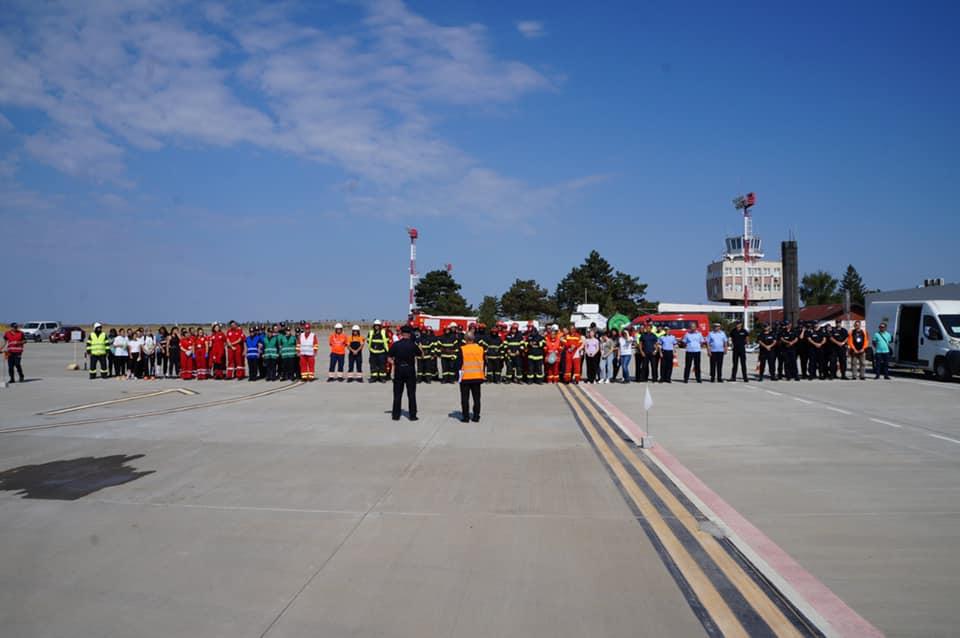 Forțele de intervenție din Tulcea au participat la cel mai amplu exercițiu de salvare din ultimii ani