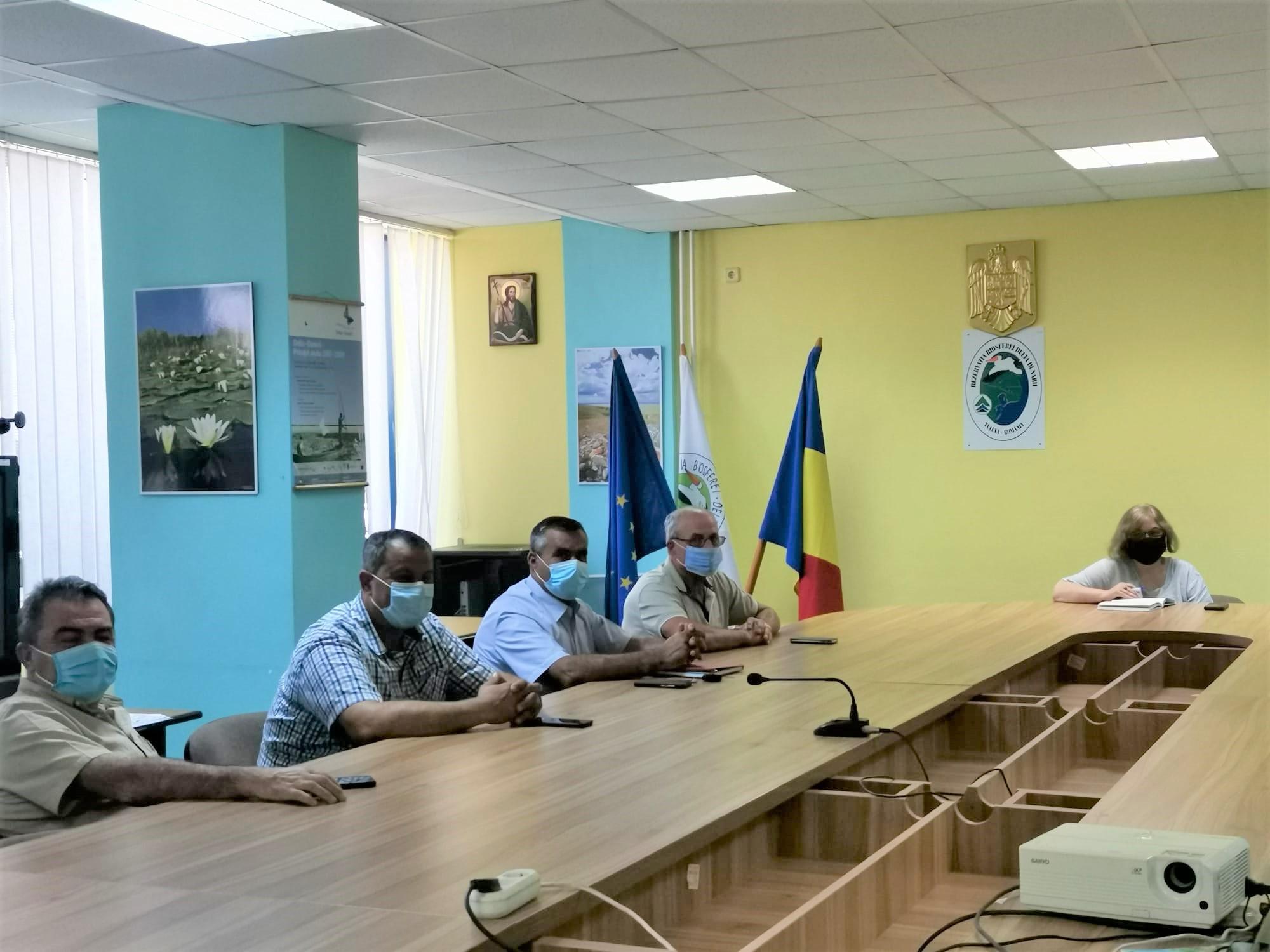 Atena Groza s-a întâlnit pentru prima dată cu primarii din Deltă