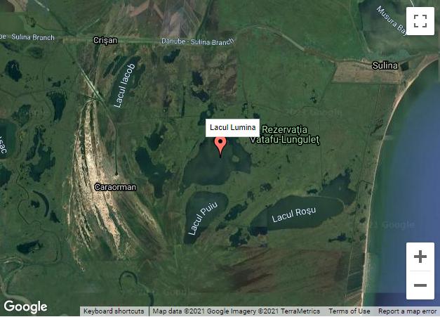 Sute de metri de setci monofilament, descoperite pe lacul Lumina, în miez de noapte