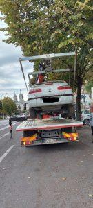 Peste 270 de mașini abandonate pe străzile din municipiu, urmează să fie ridicate de Poliția Locală