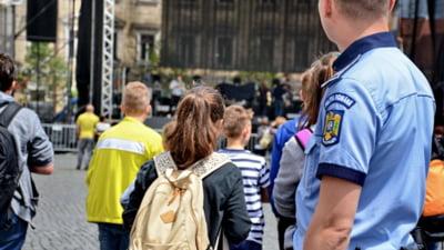 Școlile din municipiu, supravegheate de polițiști din cadrul IPJ Tulcea