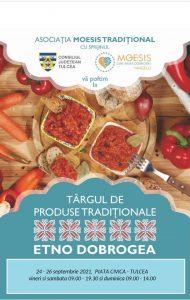 Târgul ETNO DOBROGEA – LIANT DE TRADIȚII, ediția a II-a, în Piața Civică