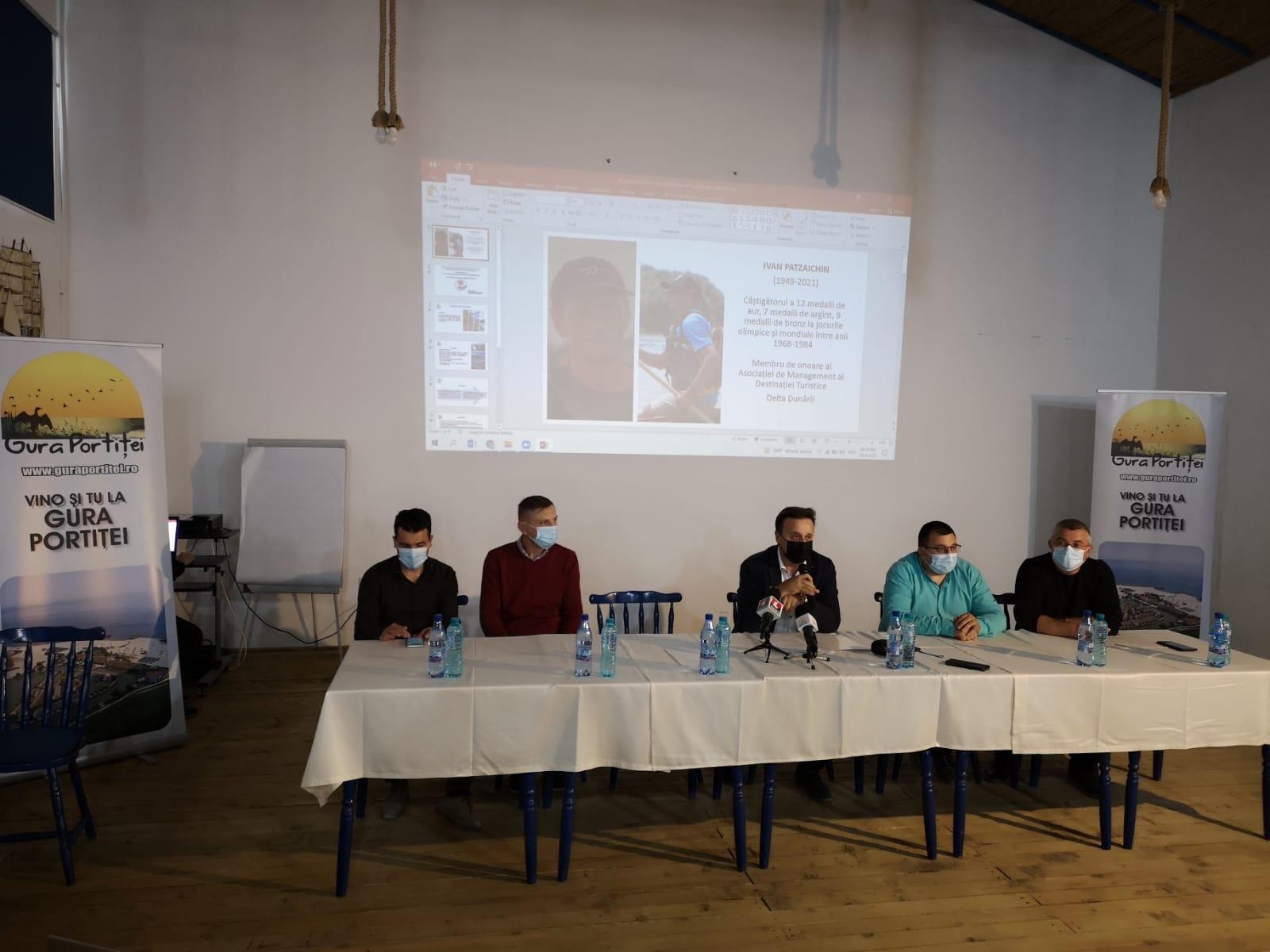 """""""Turismul Deltaic – liantul între valorile de patrimoniu ale Deltei Dunării"""" – seminar la Gura Portiței"""