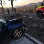 Accident rutier violent în apropiere de localitatea Iulia! Ambii șoferi, răniți!