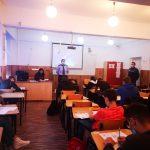 """""""Stop bullying în școala ta!"""", campanie IPJ Tulcea într-un liceu din municipiu"""