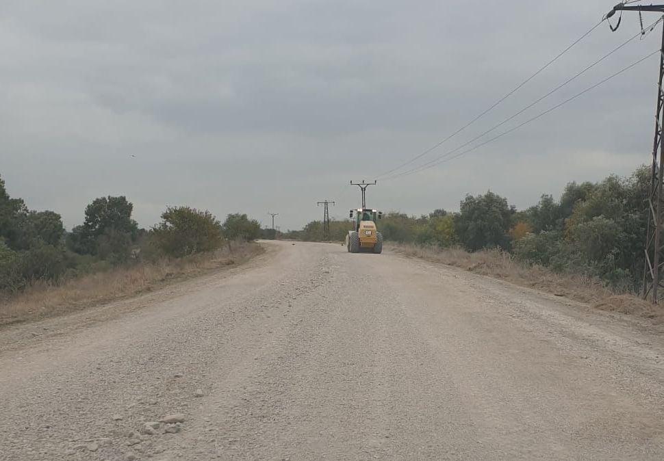 Consiliul Județean Tulcea a finalizat pietruirea drumului Tulcea-Chilia Veche