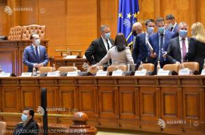 Moţiunea de cenzură iniţiată de PSD – adoptată de Parlament; Guvernul Cîţu – demis (surse)