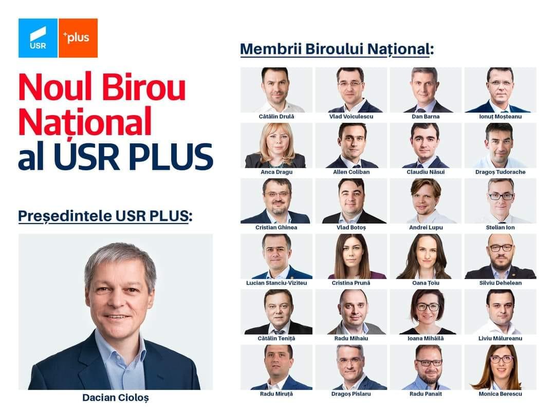 Dacian Cioloș este noul președinte al USR PLUS!