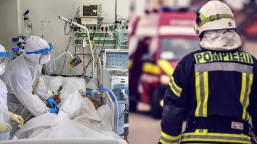 Pompierii verifică secția ATI, din 3 în 3 ore, pentru a preveni orice tip de incendiu în Spitalul Județean Tulcea
