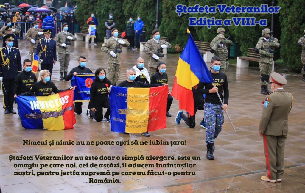 Ceremonie de întâmpinare a Ștafetei Invictus, mâine, la Monumentul Independenței